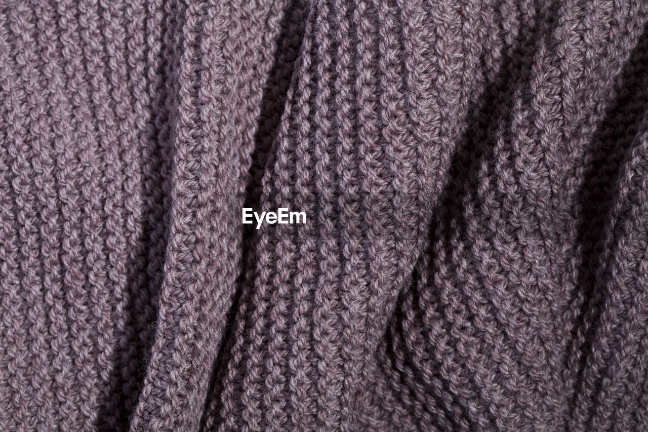 backgrounds, full frame, textile, wool, textured, pattern, close-up, no people, clothing, material, craft, art and craft, indoors, woven, choice, extreme close-up, braided, studio shot, repetition, softness, luxury, warm clothing, purple, garment, textured effect