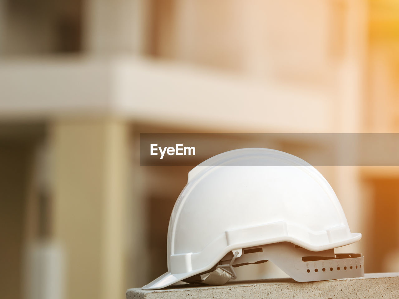 helmet, headwear, hardhat, protection, indoors, construction industry, architecture, no people, focus on foreground, white color, security, safety, industry, close-up, built structure, design, selective focus, building, technology, still life