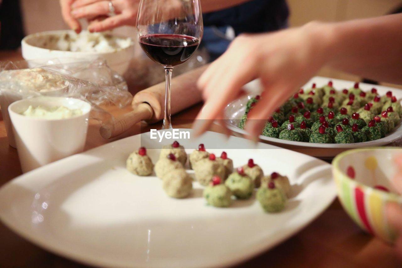 Women Preparing Food