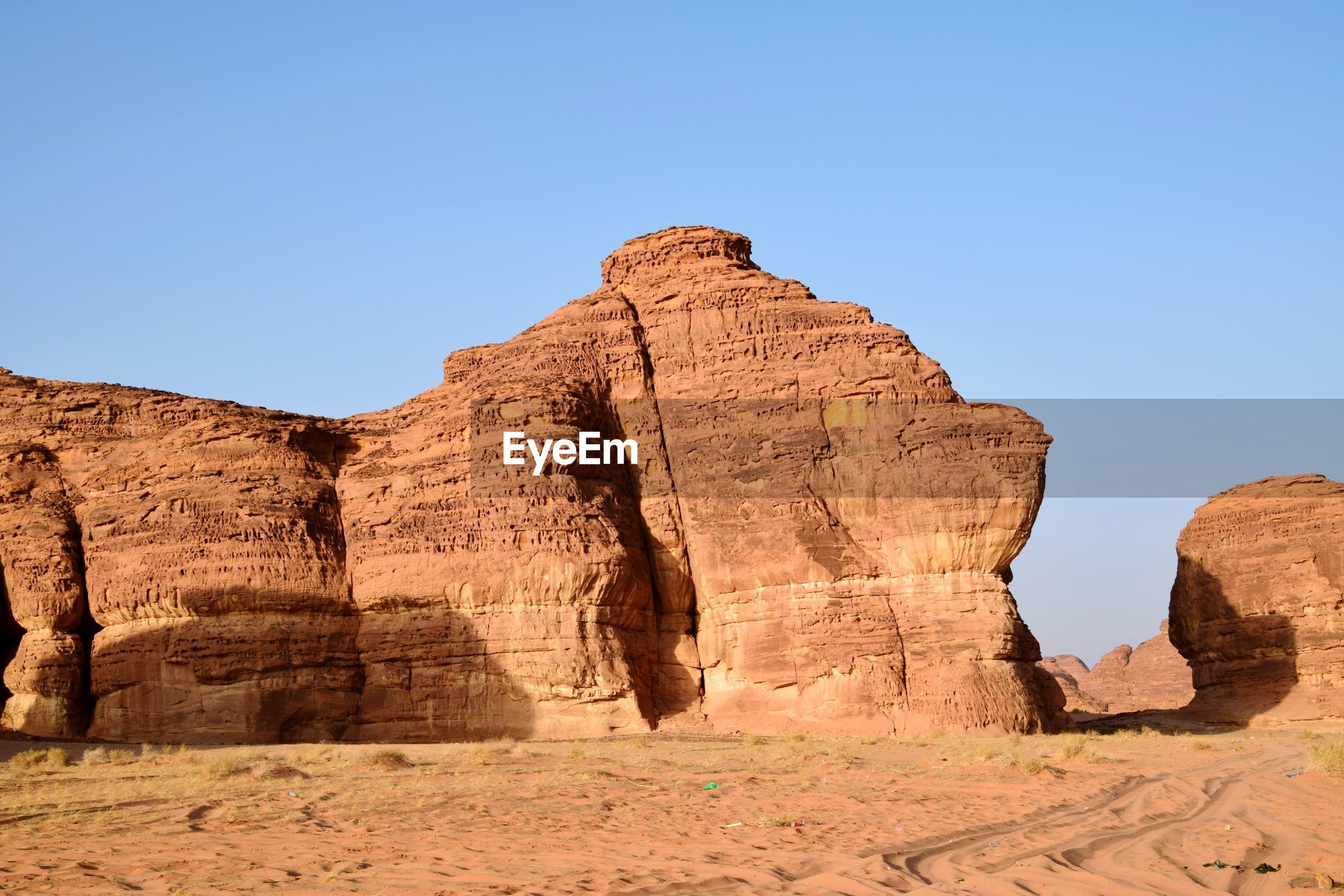 Al ula rock mountain, saudiarabia