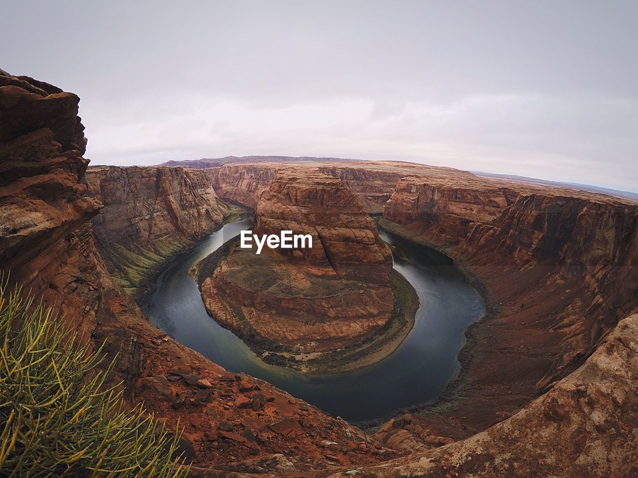Aerial View Of Horseshoe Bend