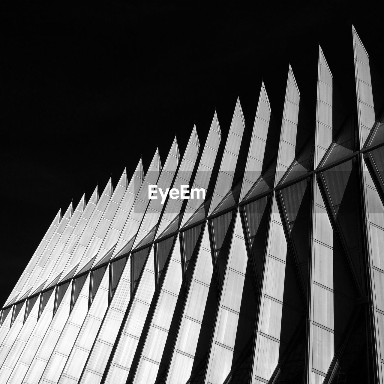 United States Air Force Academy Cadet Chapel Against Sky