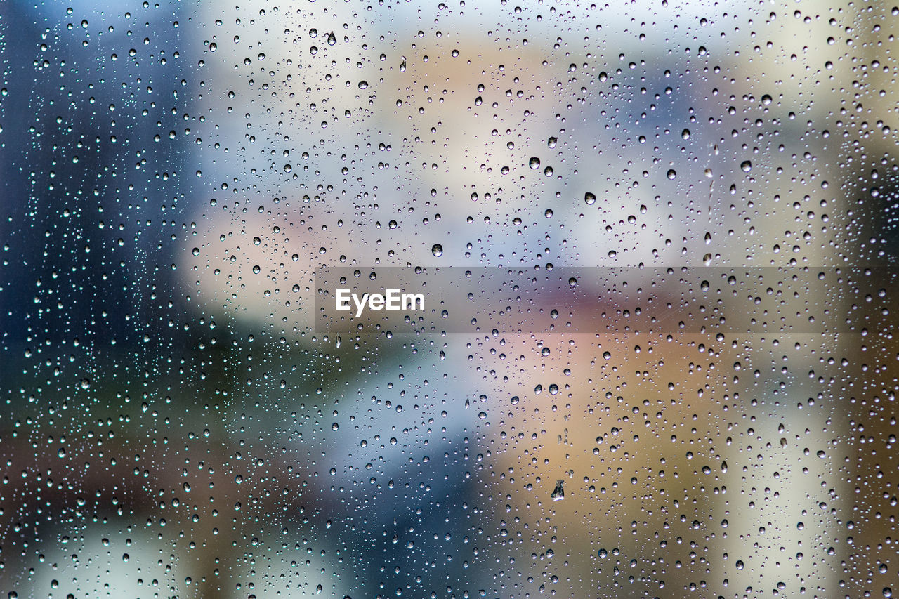 window, drop, wet, water, rain, glass - material, transparent, no people, indoors, raindrop, close-up, rainy season, full frame, backgrounds, nature, focus on foreground, sky, monsoon