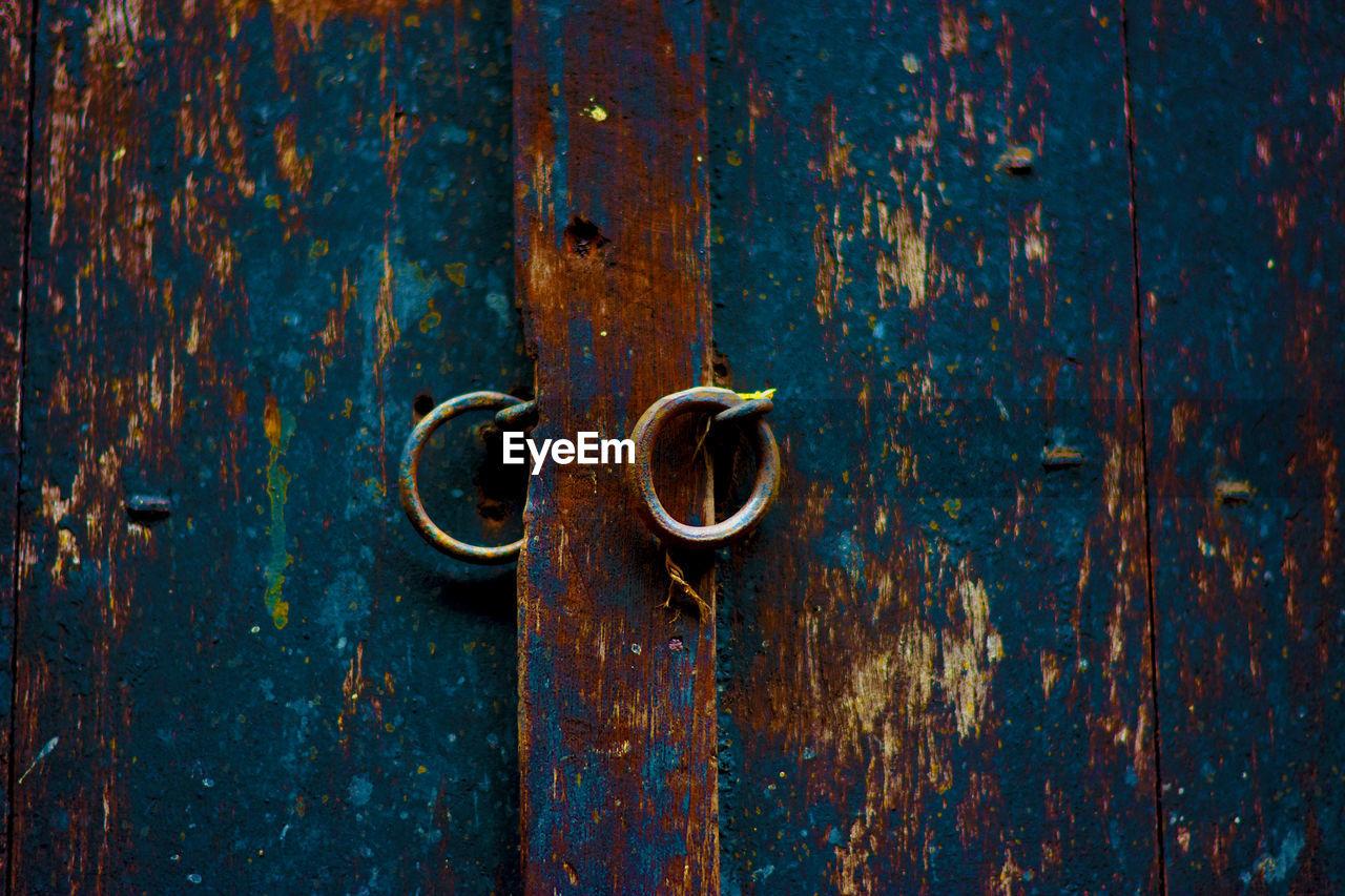 Close-Up Of Old Door