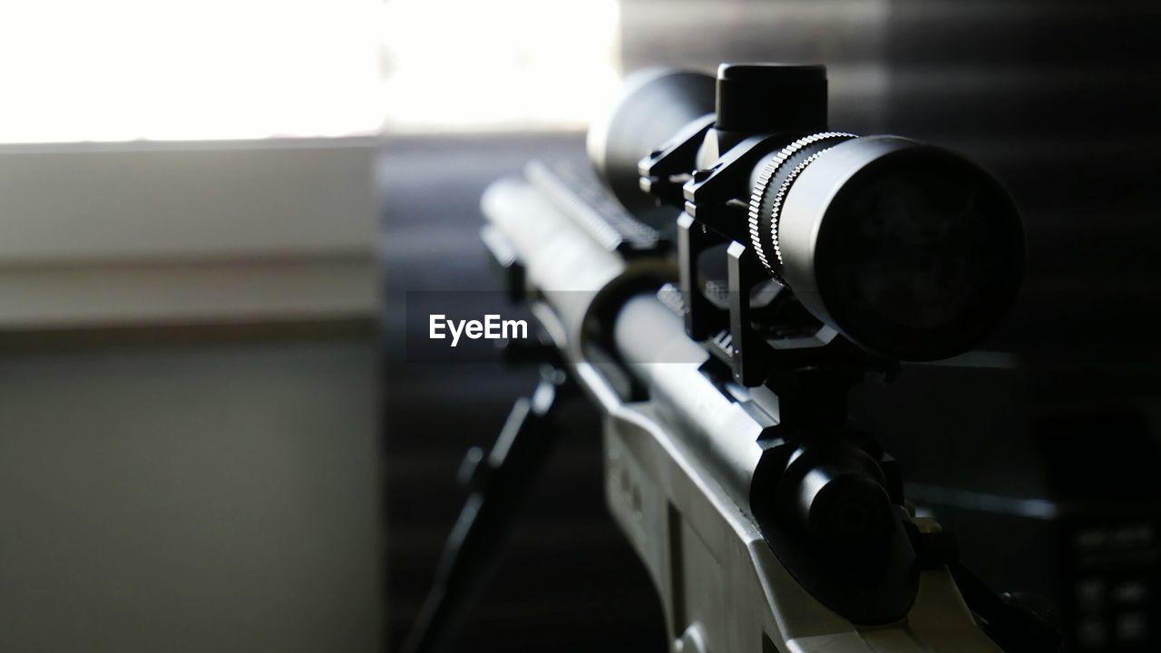 Close-Up Of Sniper