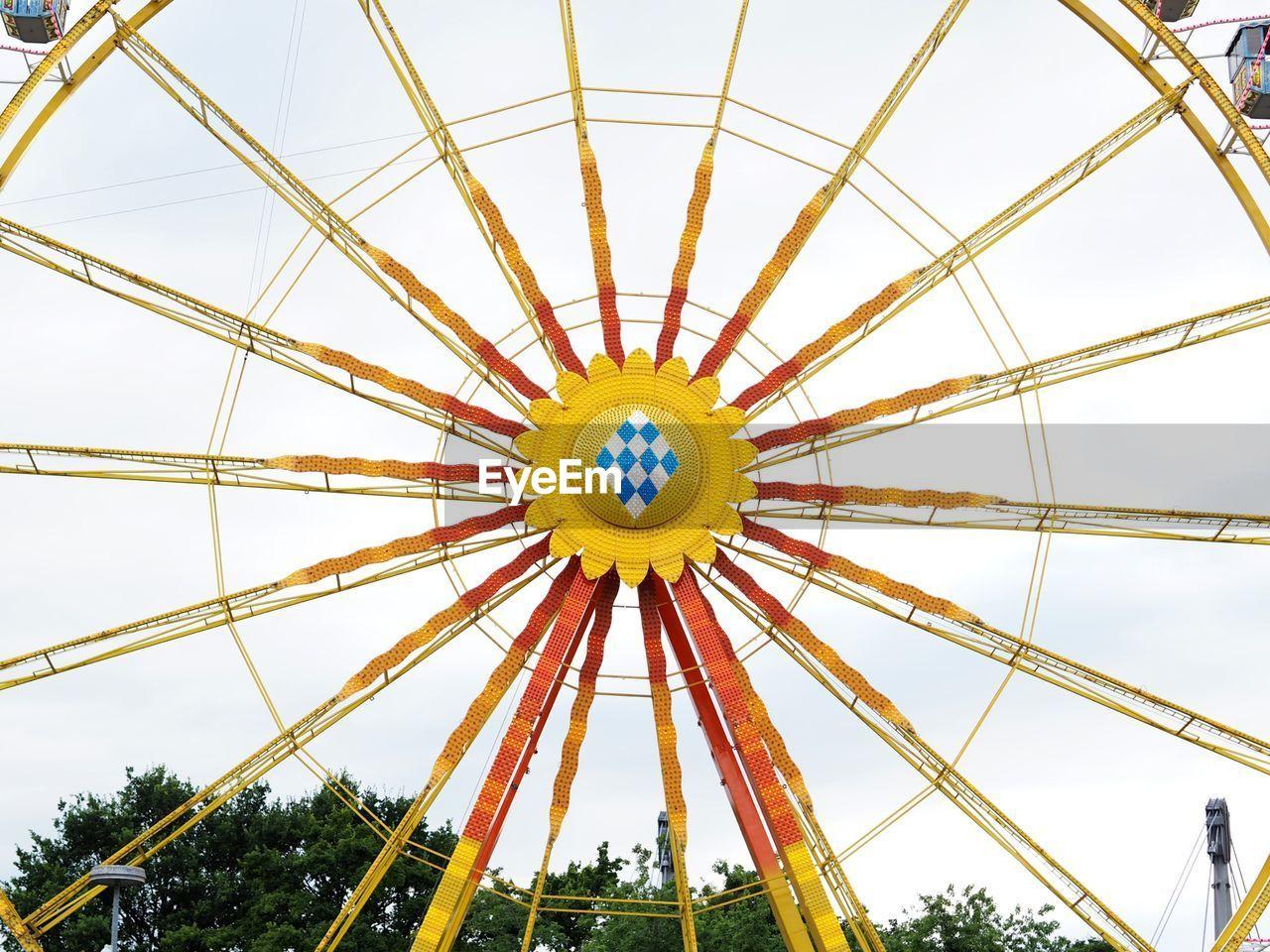 Cropped Ferris Wheel Against Sky