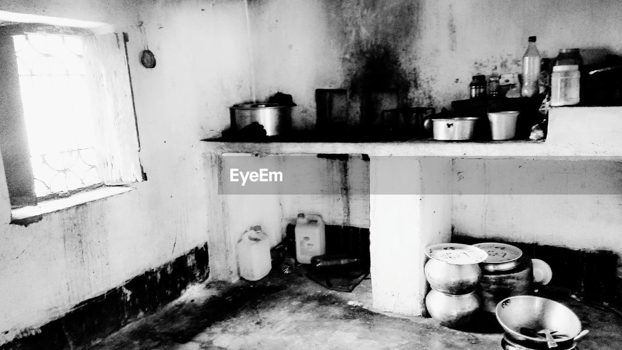 abandoned, messy, indoors, weathered, domestic kitchen, kitchen, built structure, architecture, no people, day, domestic room
