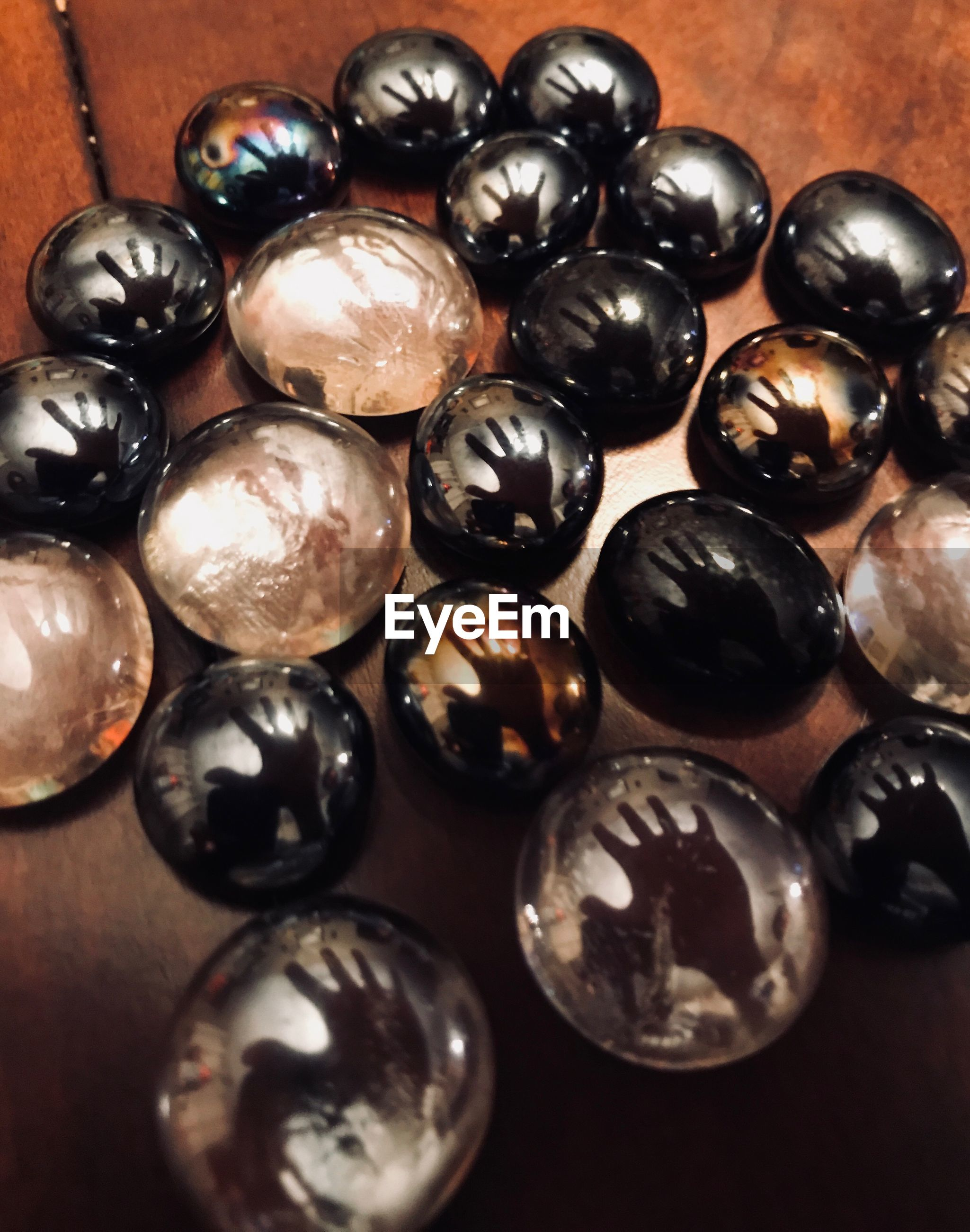 no people, wealth, indoors, variation, luxury, large group of objects, close-up, black olive, day