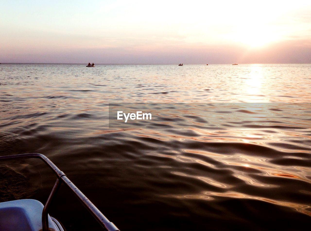water, sky, beauty in nature, nautical vessel, sea, scenics - nature, nature, sunset, mode of transportation, tranquility, transportation, tranquil scene, horizon, horizon over water, idyllic, outdoors, travel, sunlight, sailing