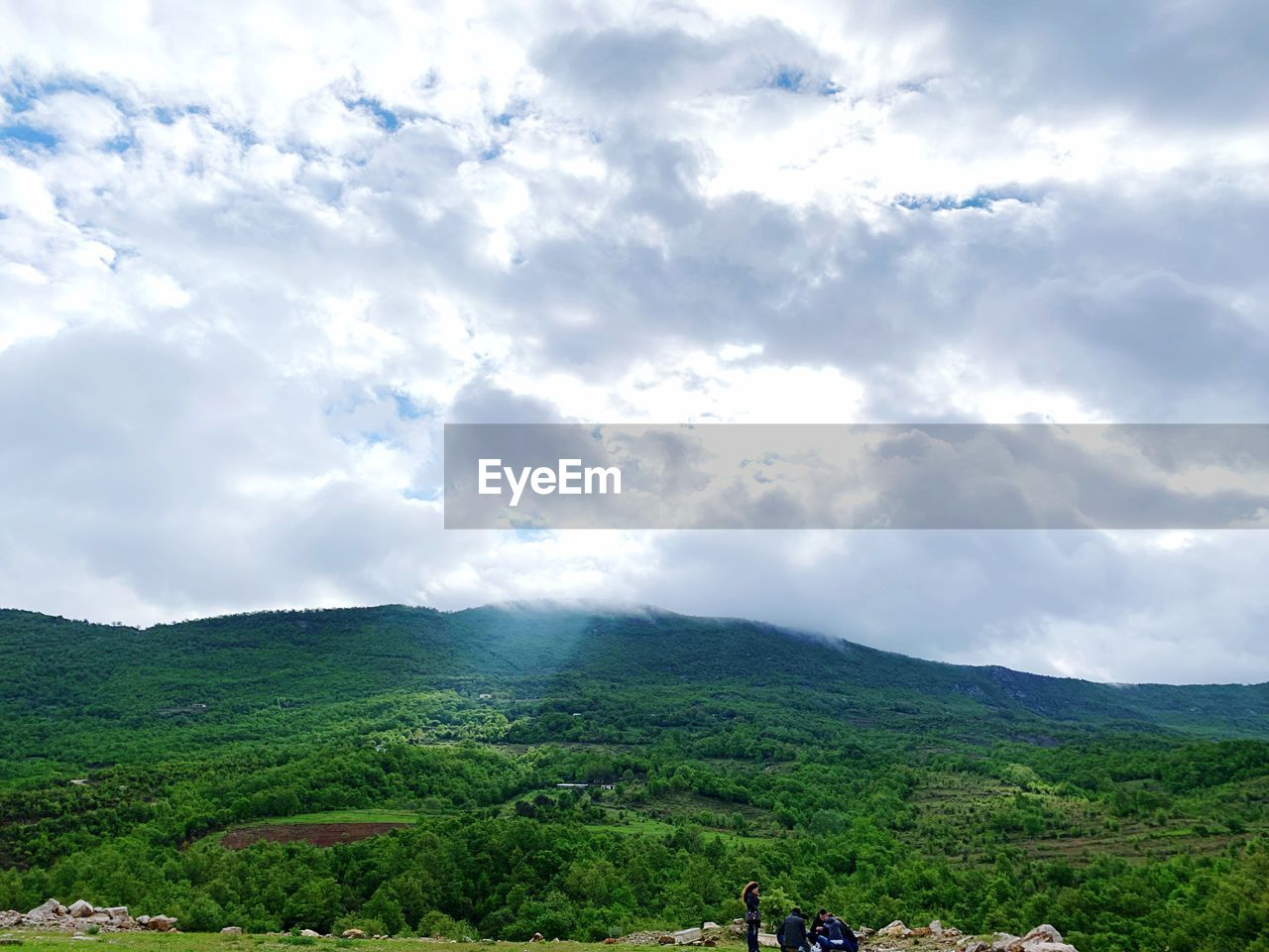 cloud - sky, sky, beauty in nature, landscape, scenics - nature, environment, mountain, tranquil scene, tranquility, day, nature, green color, plant, land, non-urban scene, tree, outdoors, growth, overcast