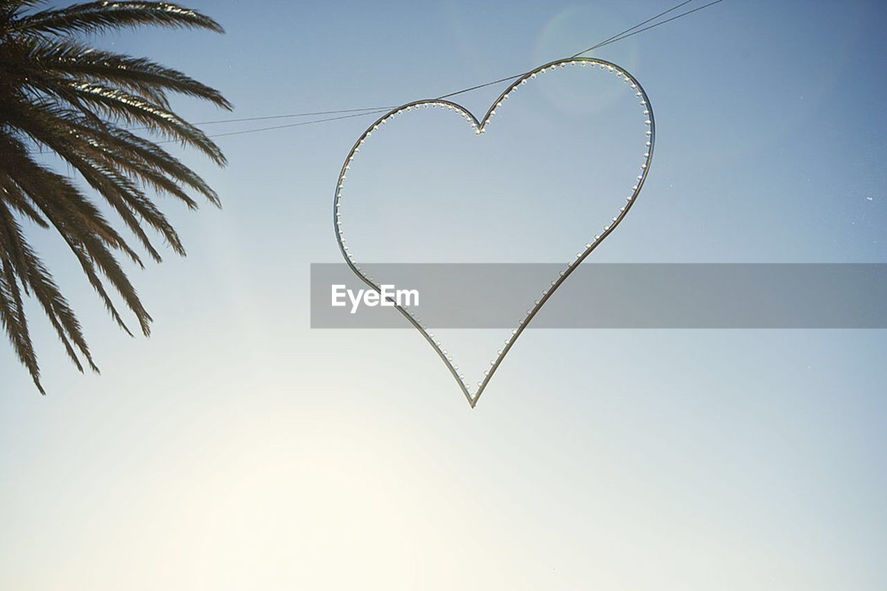 heart shape, love, no people, clear sky, close-up, day, sky, nature, outdoors
