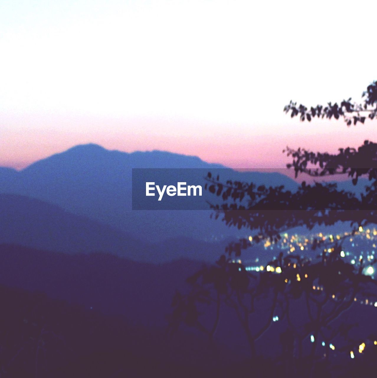 mountain, nature, beauty in nature, no people, scenics, sunset, mountain range, sky, tranquility, outdoors, landscape, silhouette, clear sky, tree, night