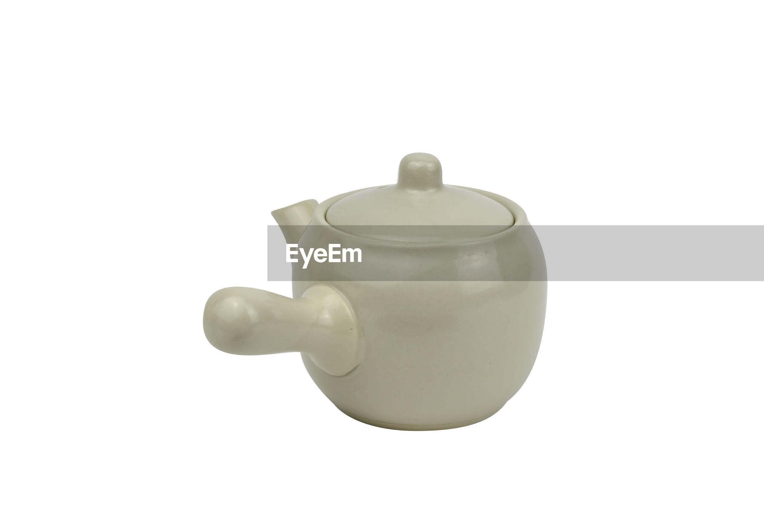 Japanese teapot isolated