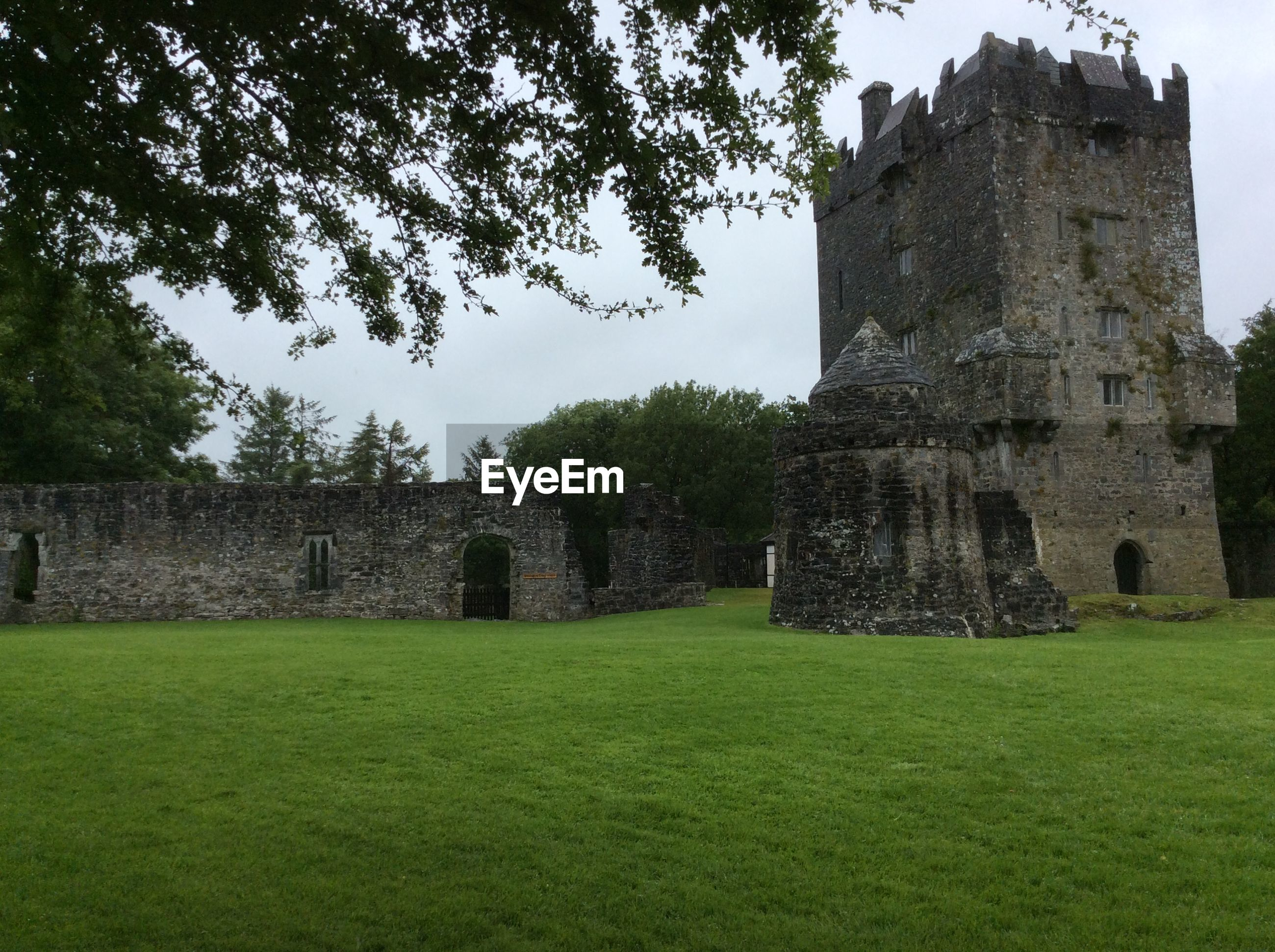 View of aughnanure castle