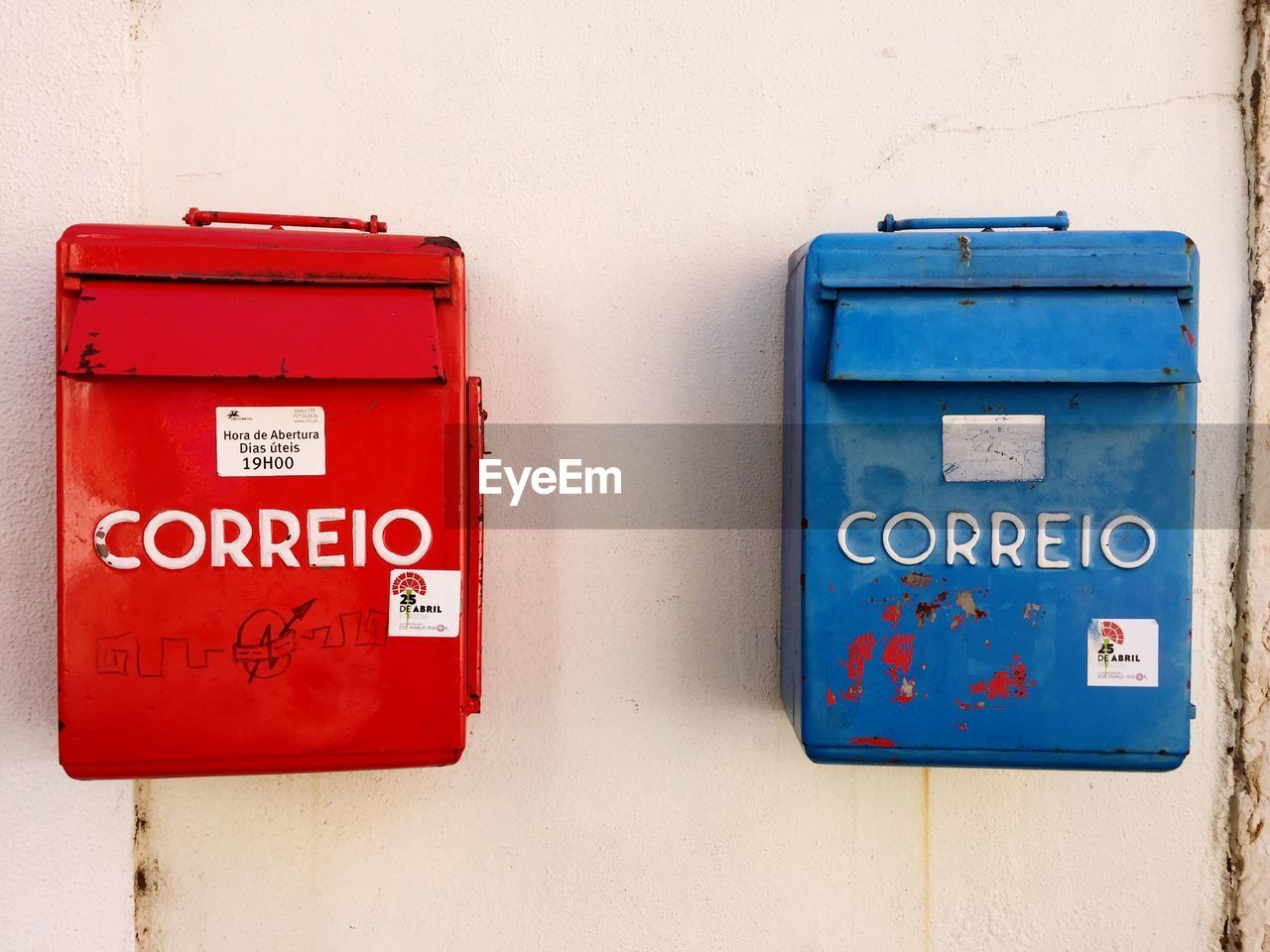 communication, red, text, day, no people, box - container, public mailbox, mail, outdoors, close-up