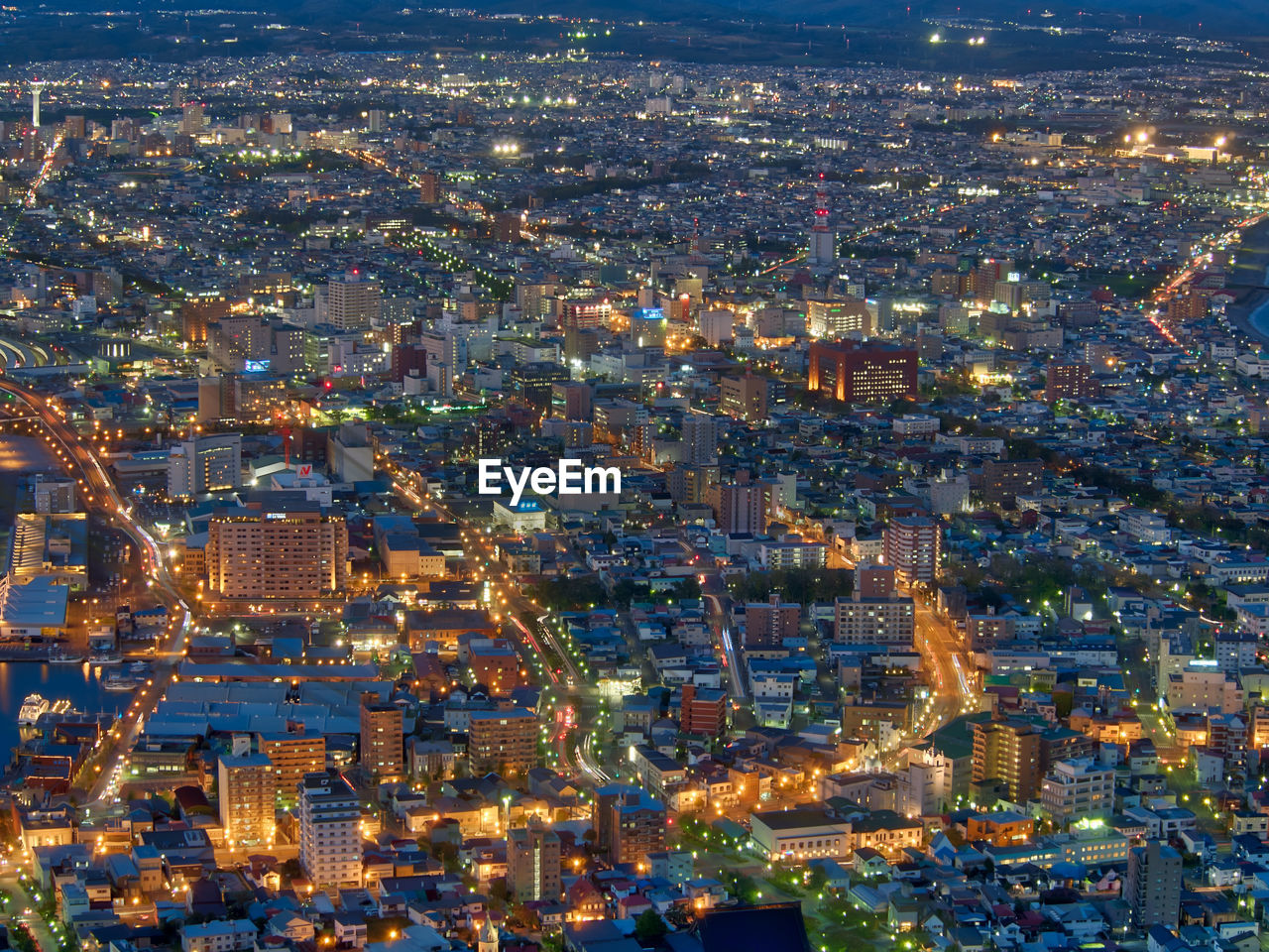 cityscape, city, illuminated, aerial view, architecture, building exterior, city life, night, skyscraper, no people, modern, built structure, outdoors, urban skyline, sky