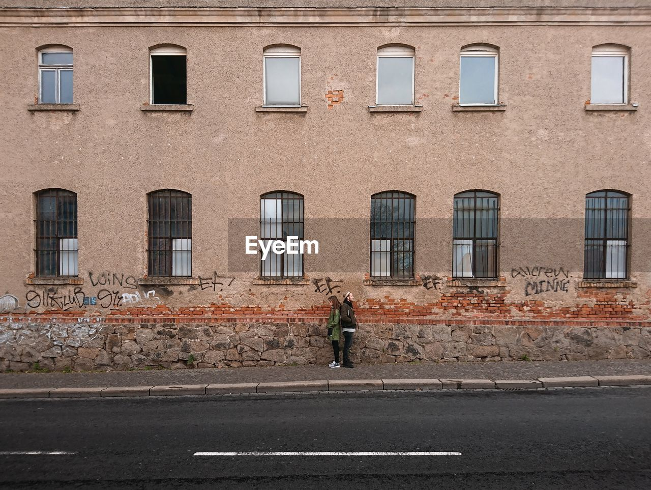 window, building exterior, street, architecture, road, day, outdoors, city, men, full length, people, one man only, adult, one person, only men, adults only