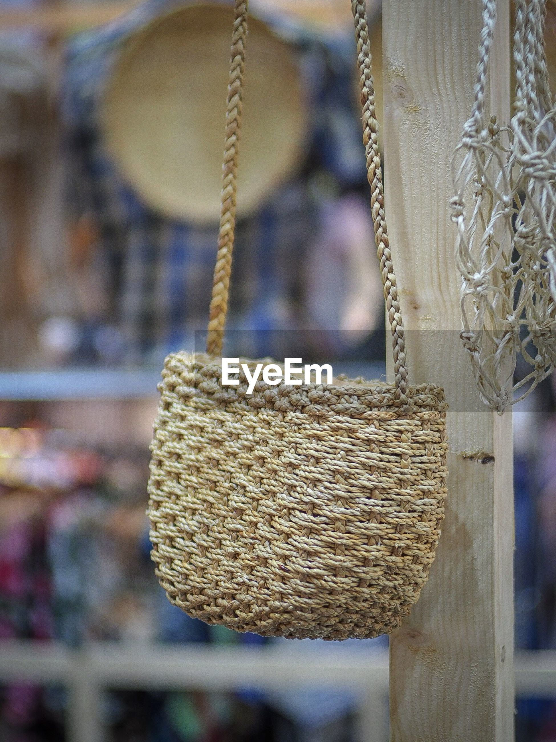 Basket for sale at store