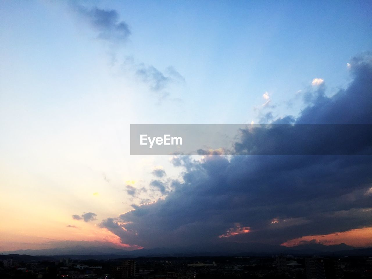 sky, beauty in nature, nature, sunset, tranquil scene, scenics, cloud - sky, no people, tranquility, outdoors, sea, day