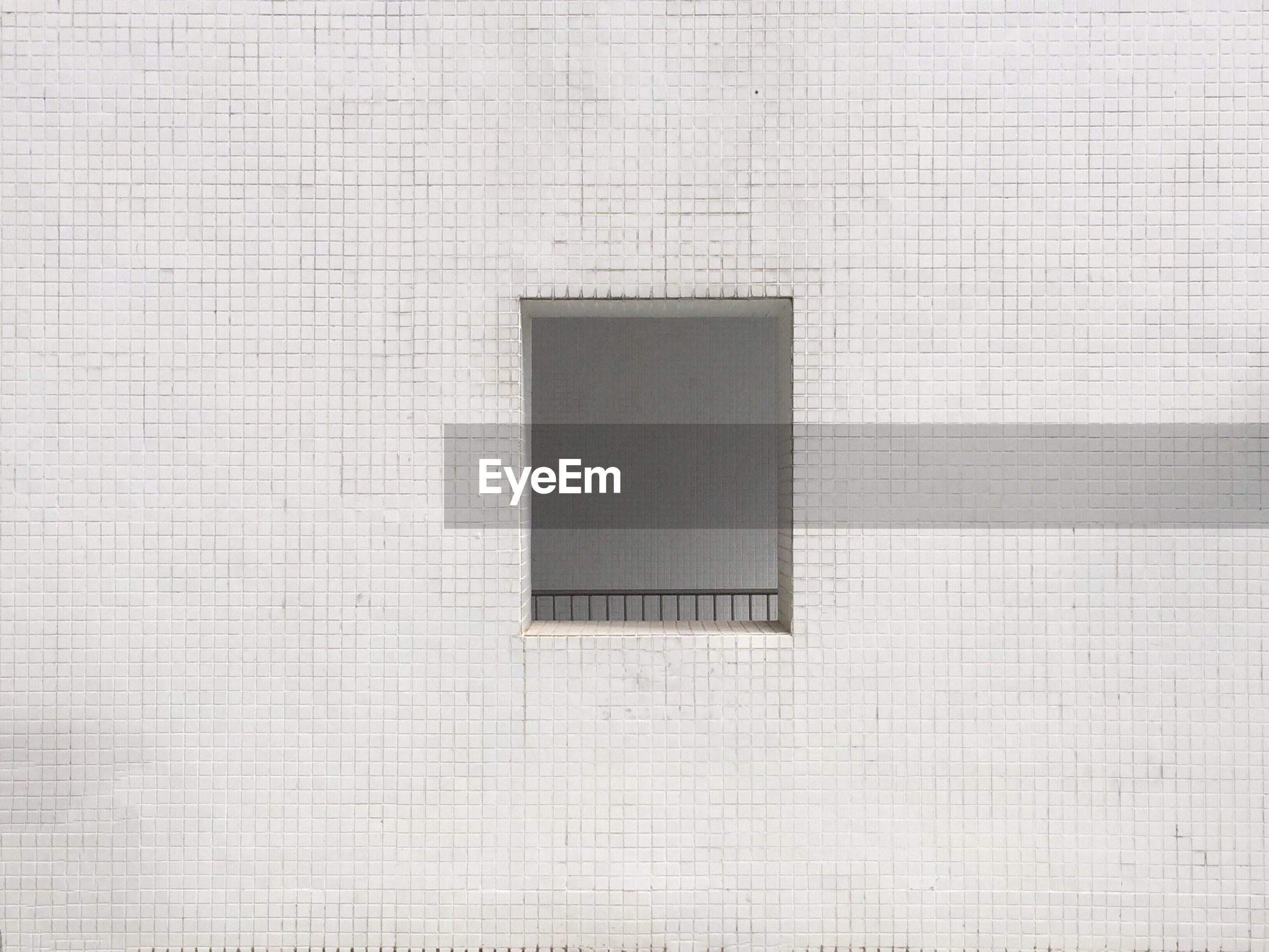 Full frame shot of window in building
