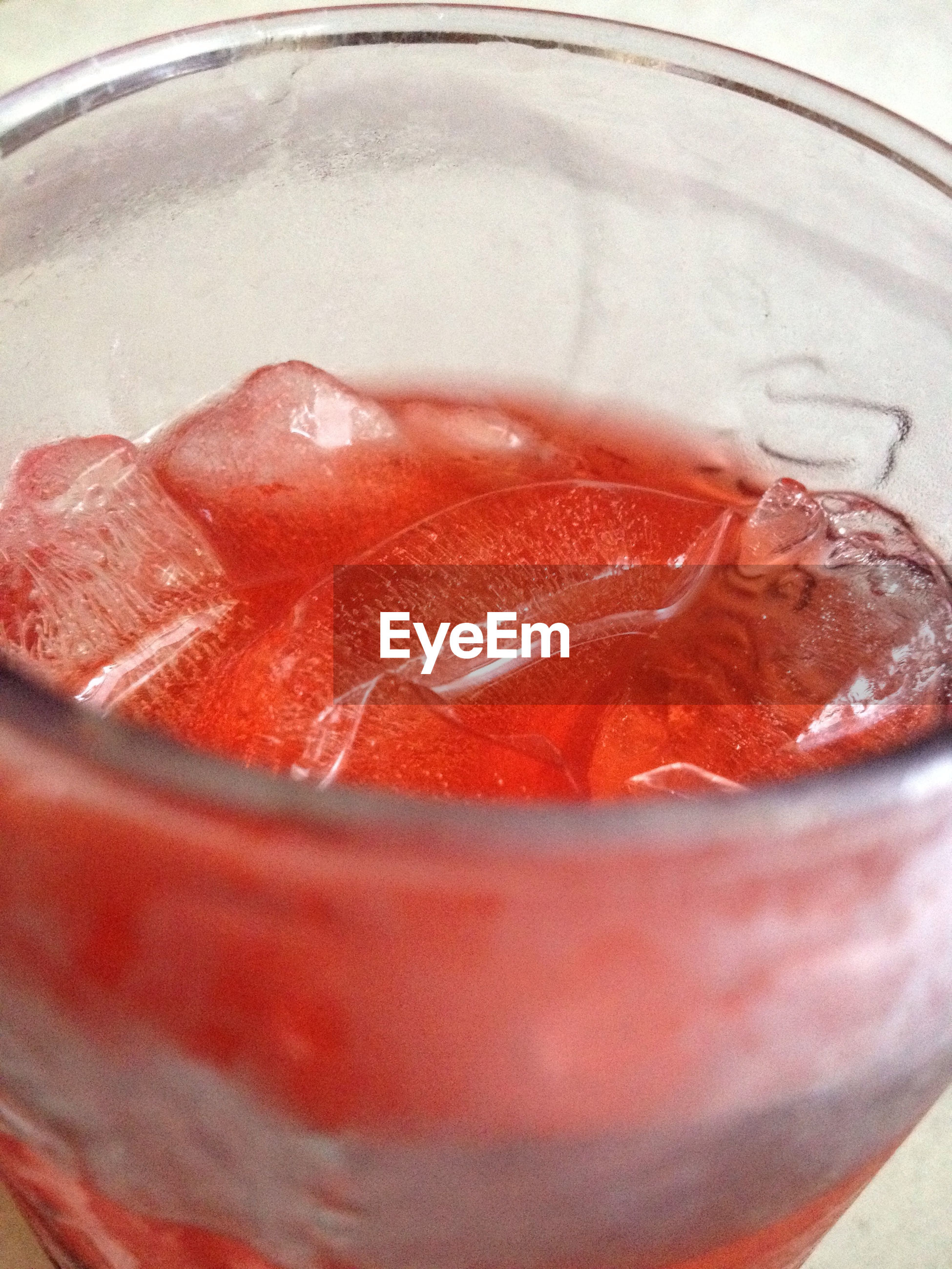food and drink, indoors, freshness, food, still life, close-up, red, indulgence, ready-to-eat, healthy eating, drinking glass, table, refreshment, drink, sweet food, high angle view, serving size, glass - material, dessert