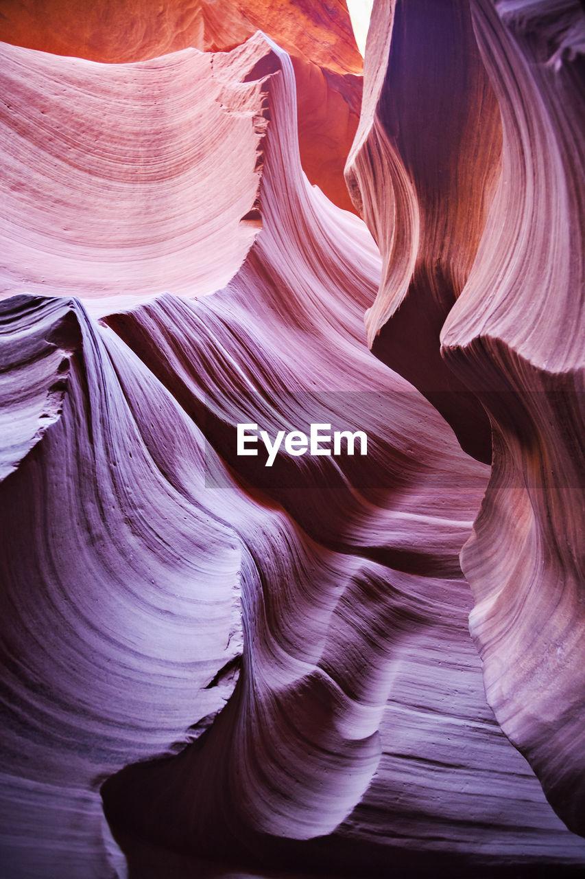 Full Frame Shot Of Canyons At Desert