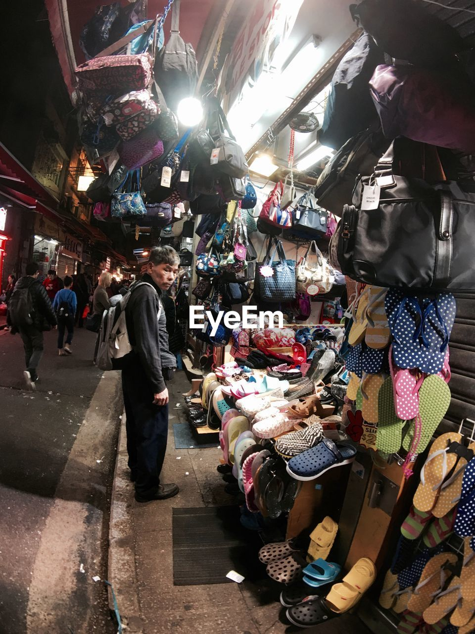 retail, for sale, variation, choice, store, market, market stall, abundance, consumerism, fashion, large group of objects, customer, real people, hanging, day, men, women, full length, outdoors, people