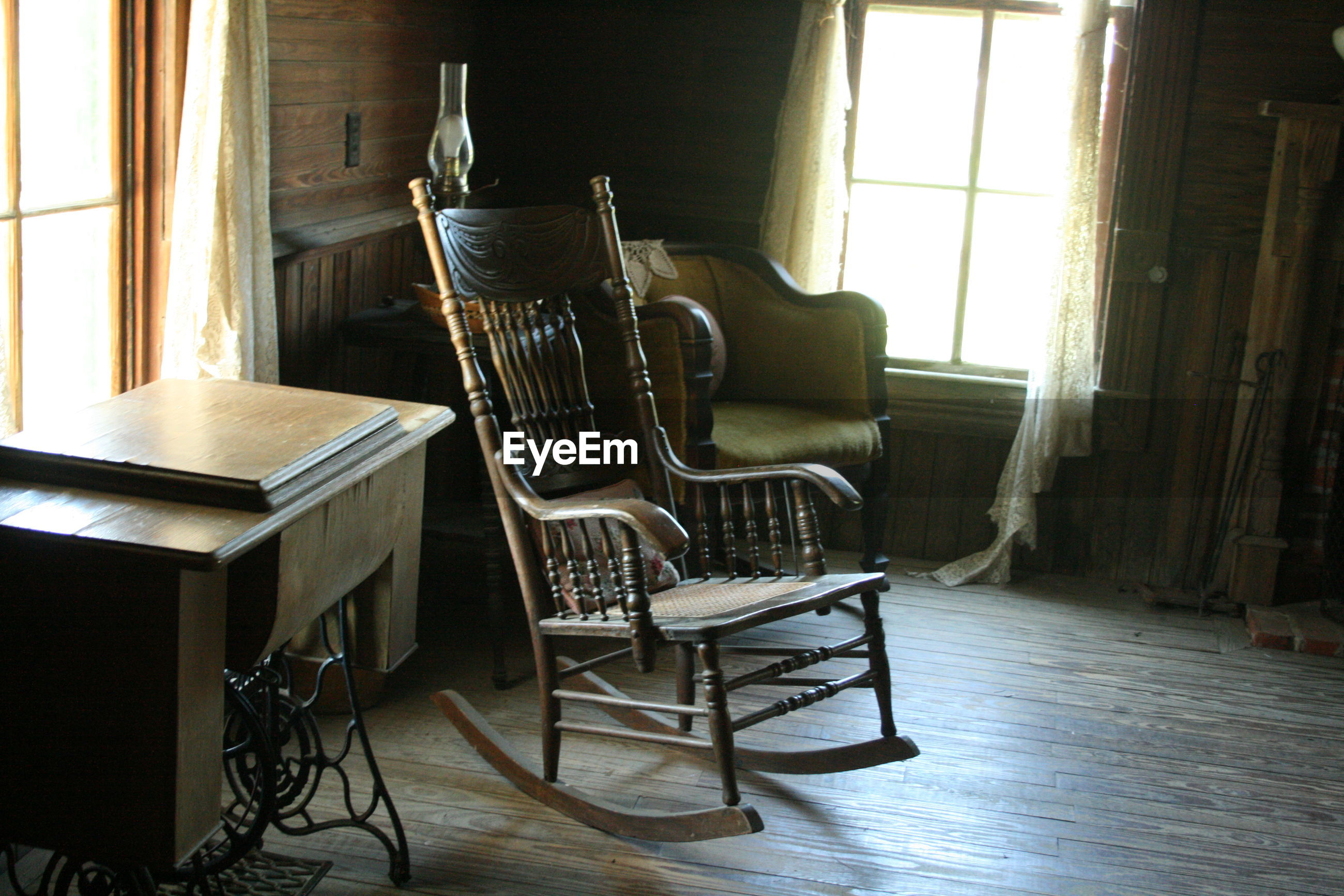 Furniture in old house