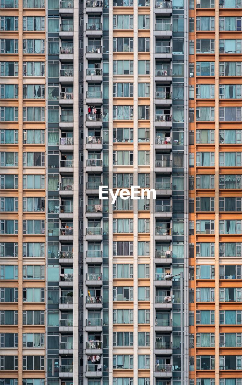 Apartment building exterior architeture