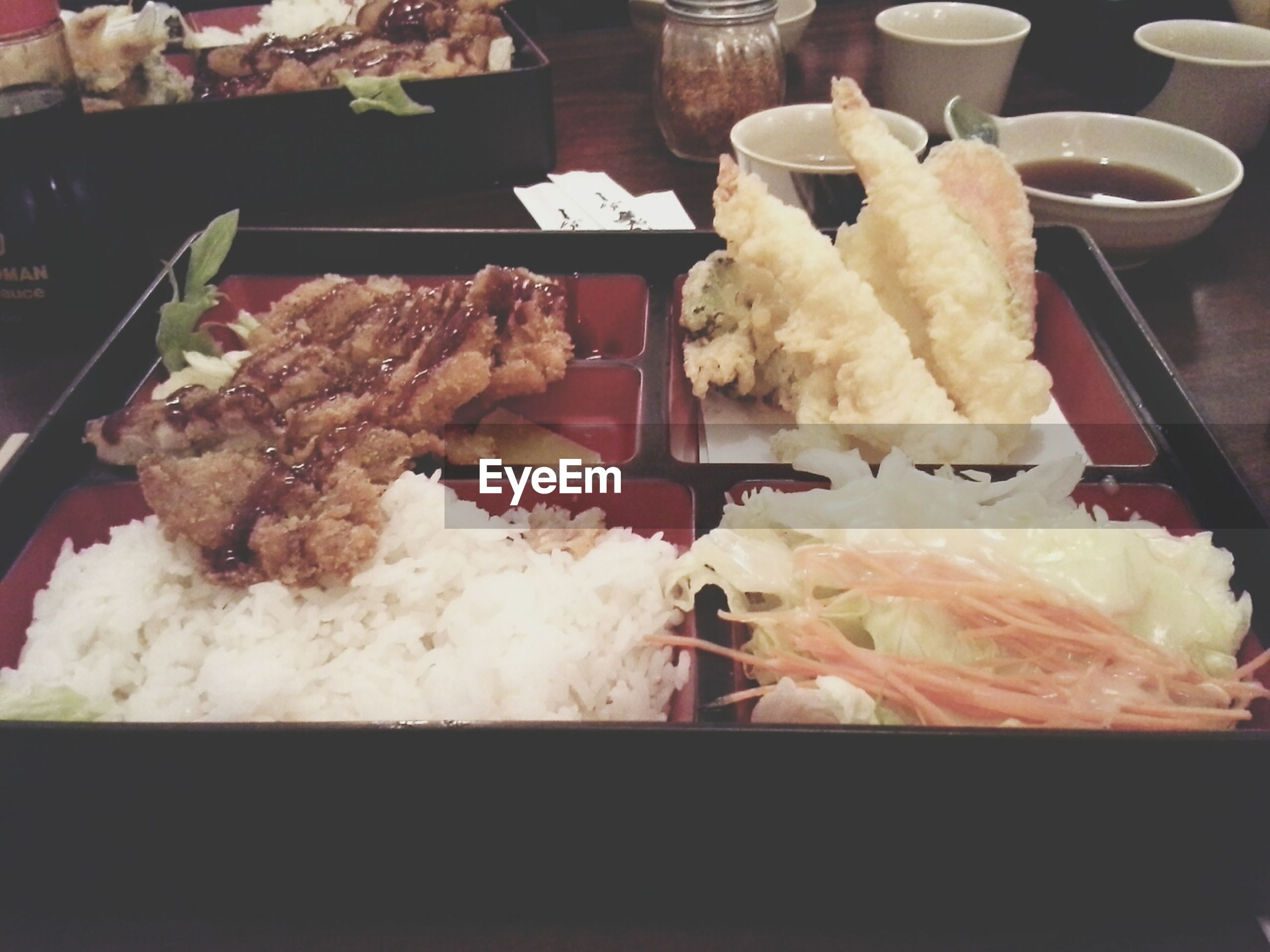 food and drink, food, indoors, freshness, ready-to-eat, still life, indulgence, plate, unhealthy eating, table, meal, meat, sweet food, serving size, restaurant, close-up, temptation, dessert, seafood