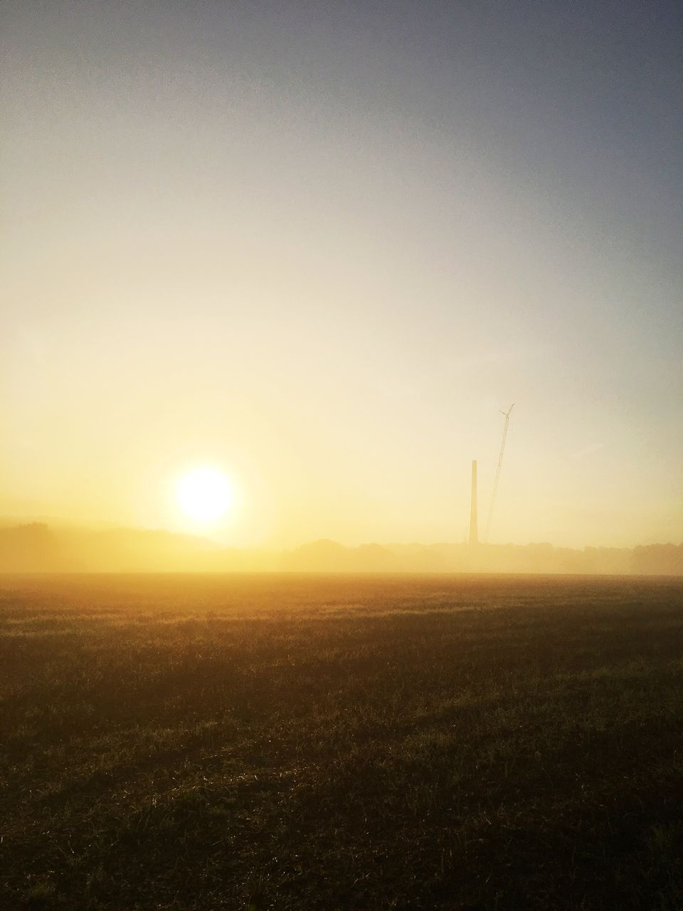 sunset, sun, field, nature, no people, tranquility, landscape, outdoors, tranquil scene, scenics, sunlight, beauty in nature, sky, wind turbine, grass, wind power, windmill, day