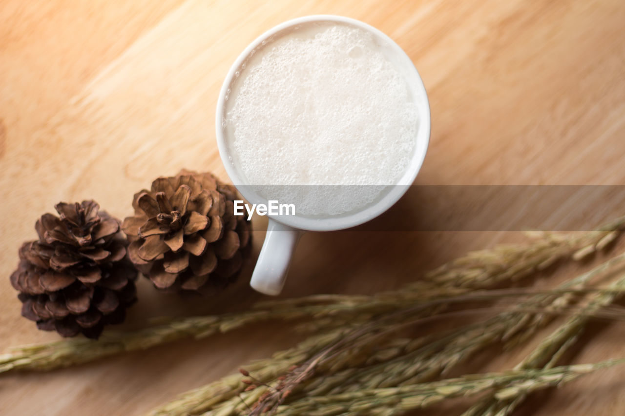 food and drink, still life, table, food, indoors, wood - material, freshness, close-up, selective focus, wellbeing, no people, healthy eating, high angle view, ingredient, refreshment, drink, brown, raw food, coffee - drink, coffee