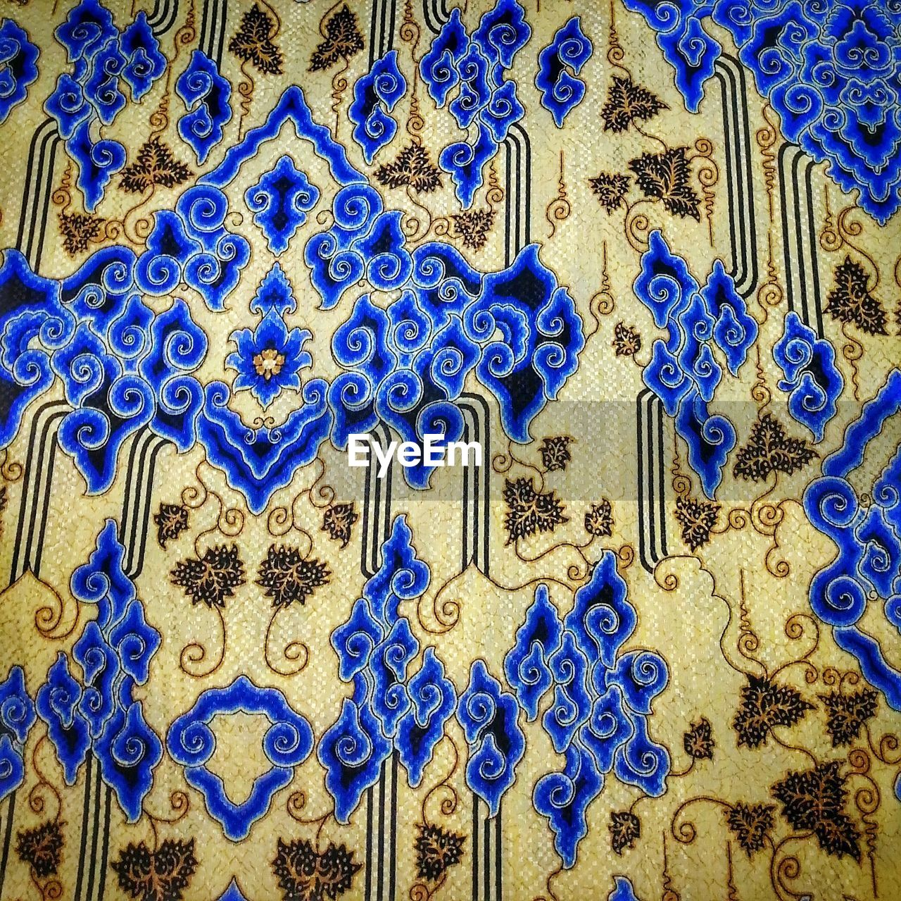 blue, pattern, full frame, design, no people, backgrounds, close-up, indoors, art and craft, creativity, craft, textile, tile, flooring, day, textured, wall - building feature, ornate, shape, floral pattern