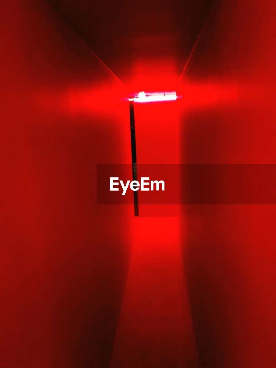 red, illuminated, indoors, no people, electricity, close-up, day