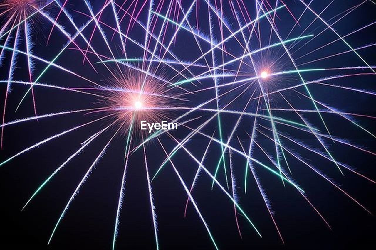 backgrounds, night, light beam, sky, firework display, illuminated, no people, star - space, outdoors, space
