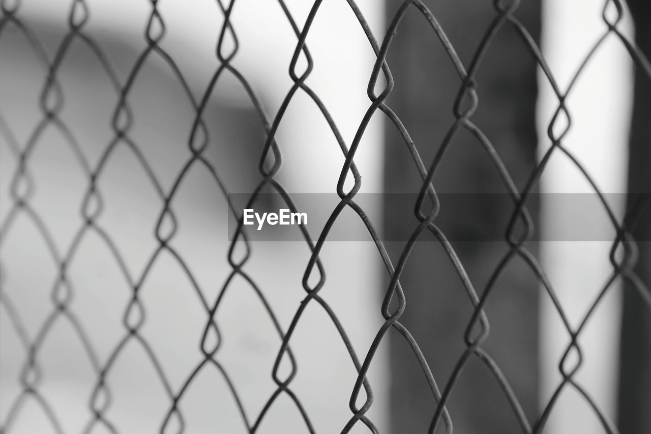 Full Frame Shot Of Chainlink Fence