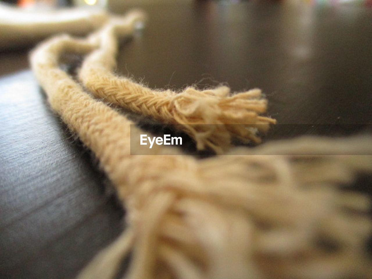 wool, indoors, still life, selective focus, close-up, no people, knitting, softness, textile, wood - material, knitting needle, loom, day