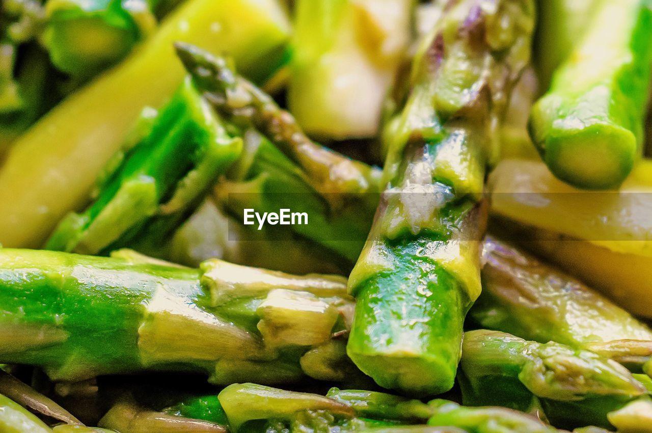 Full frame shot of cooked vegetable