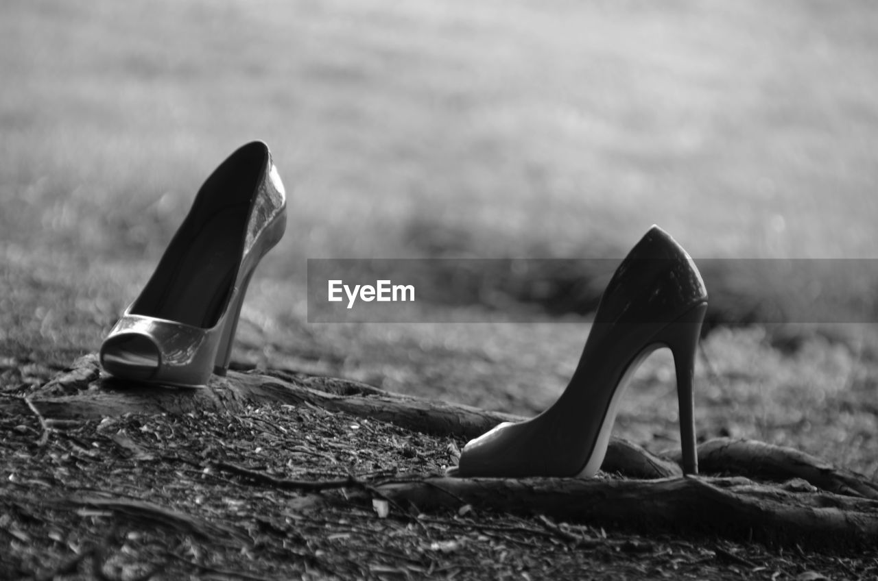 Stilettos On Field
