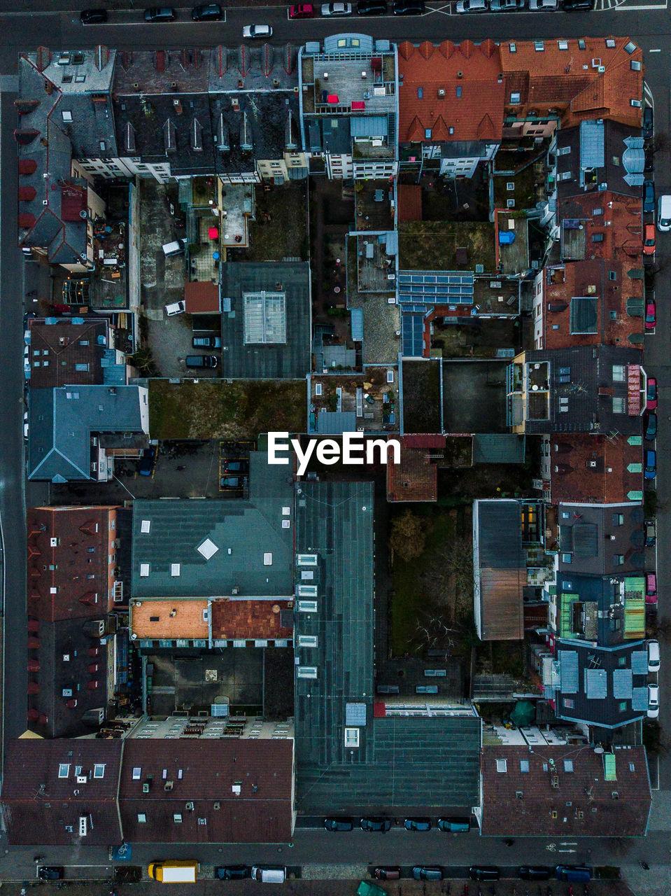 Full frame shot of city