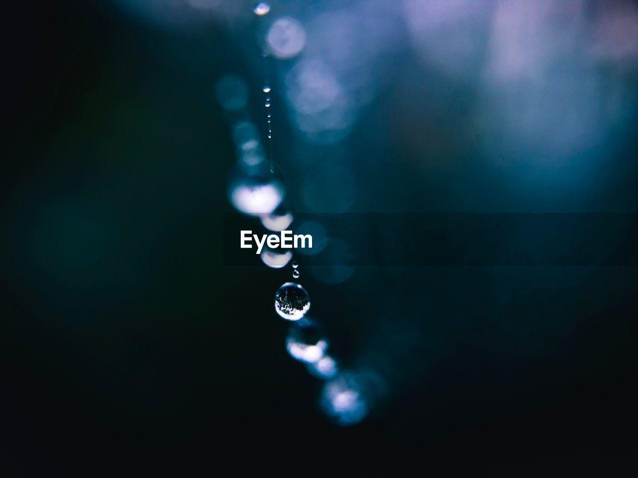 Close-Up Of Drops