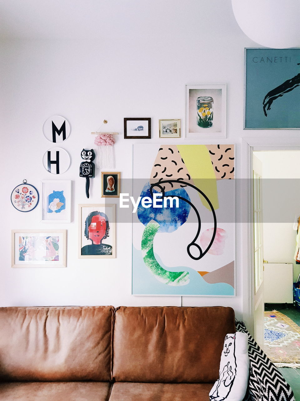 GRAFFITI ON WALL OF HOME