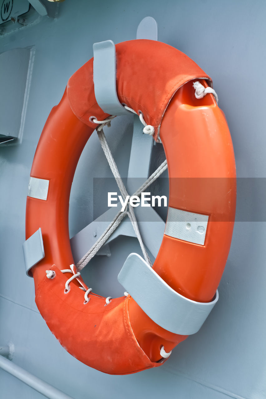 orange color, red, life belt, security, safety, protection, circle, no people, geometric shape, close-up, shape, inflatable, rescue, nautical vessel, tubing, buoy, design, day, indoors, nature