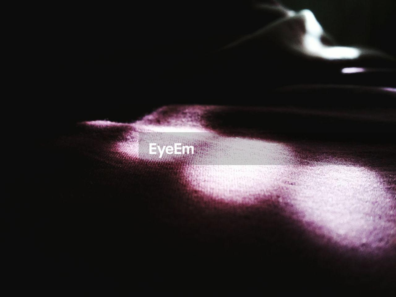 no people, indoors, close-up, night, illuminated, black background
