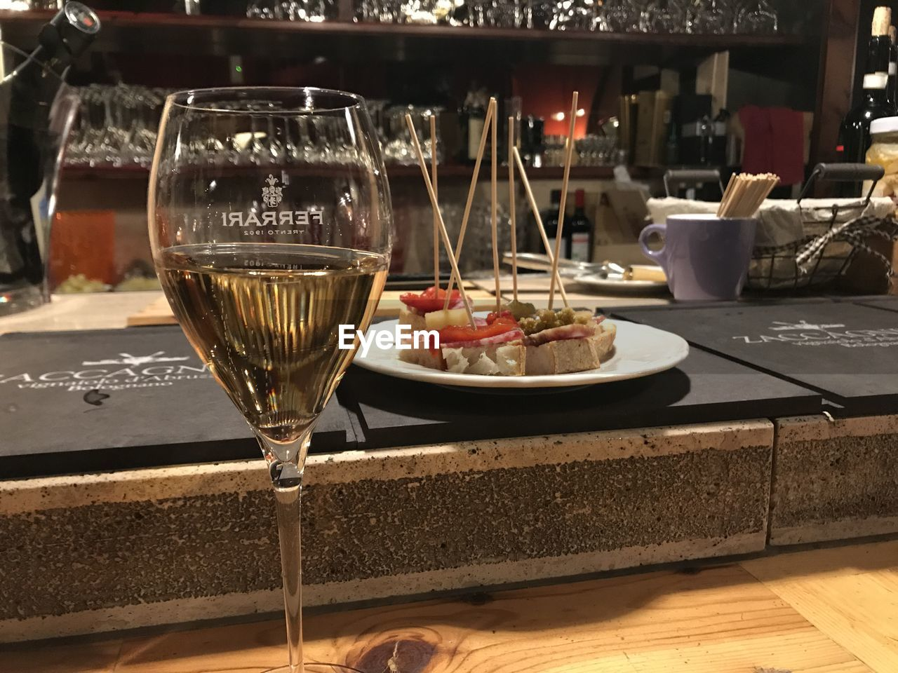 food and drink, restaurant, wineglass, table, wine, drink, food, indoors, freshness, drinking glass, no people, close-up, serving size, alcohol, plate, ready-to-eat, appetizer, day