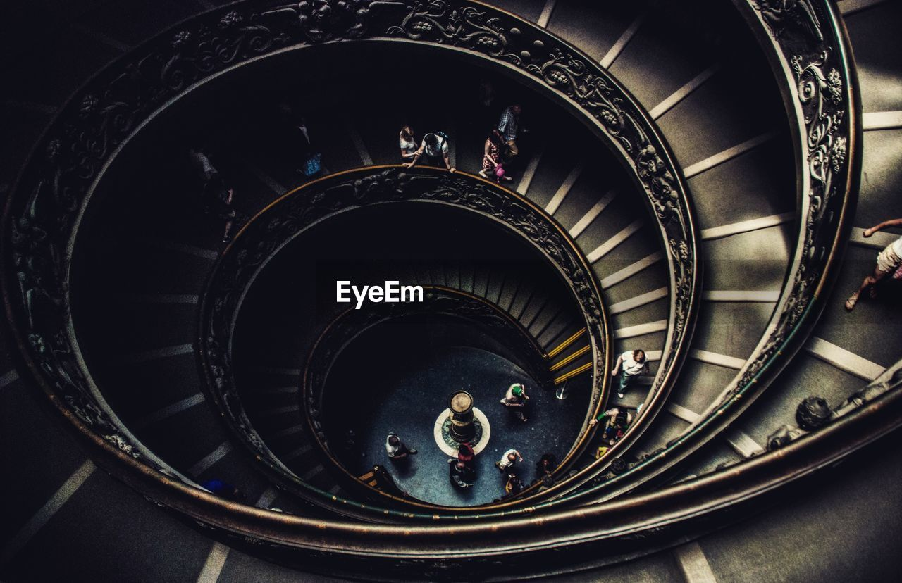 High Angle View Of Vatican Museums