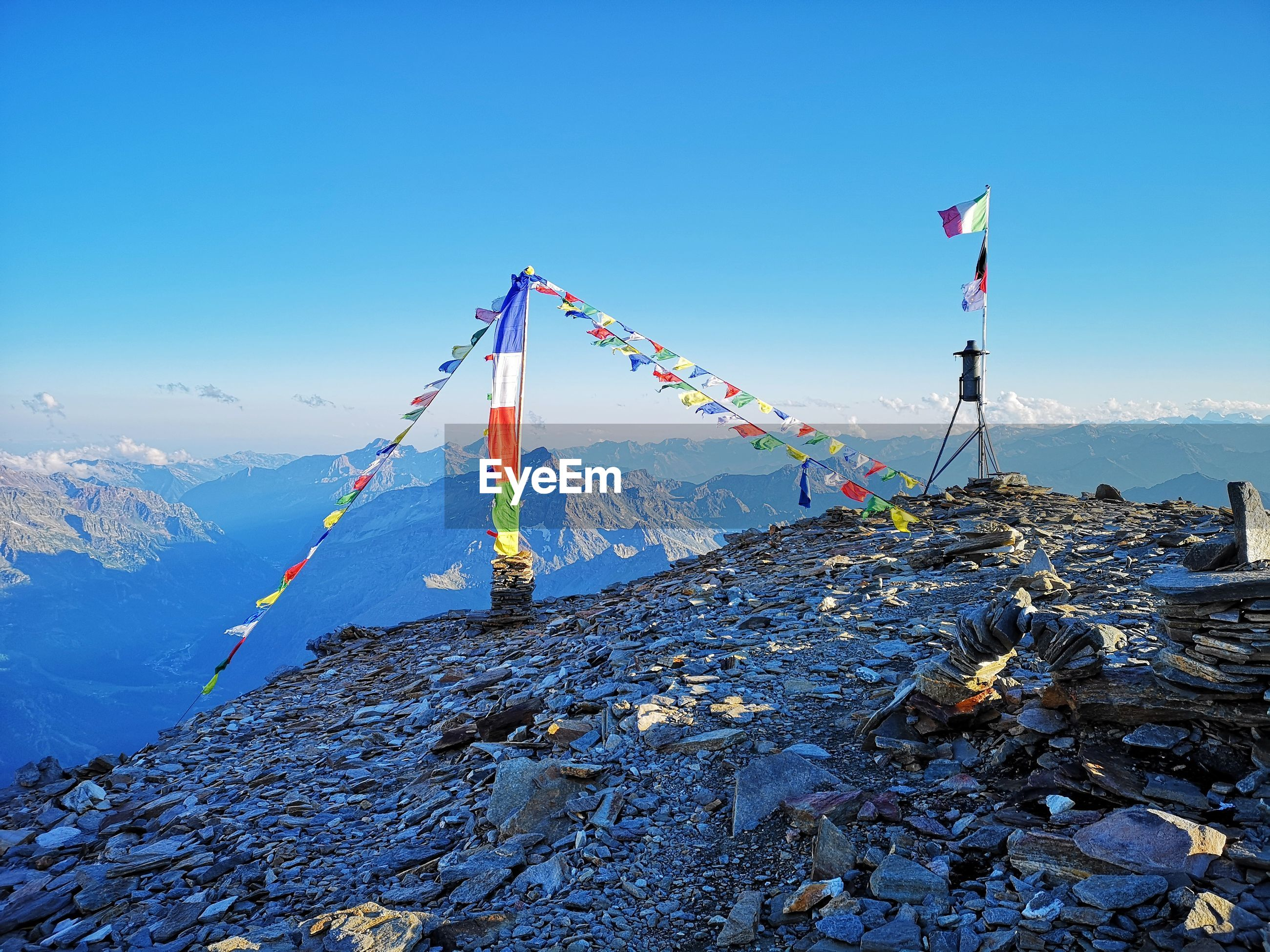 Scenic view at 3500 mt