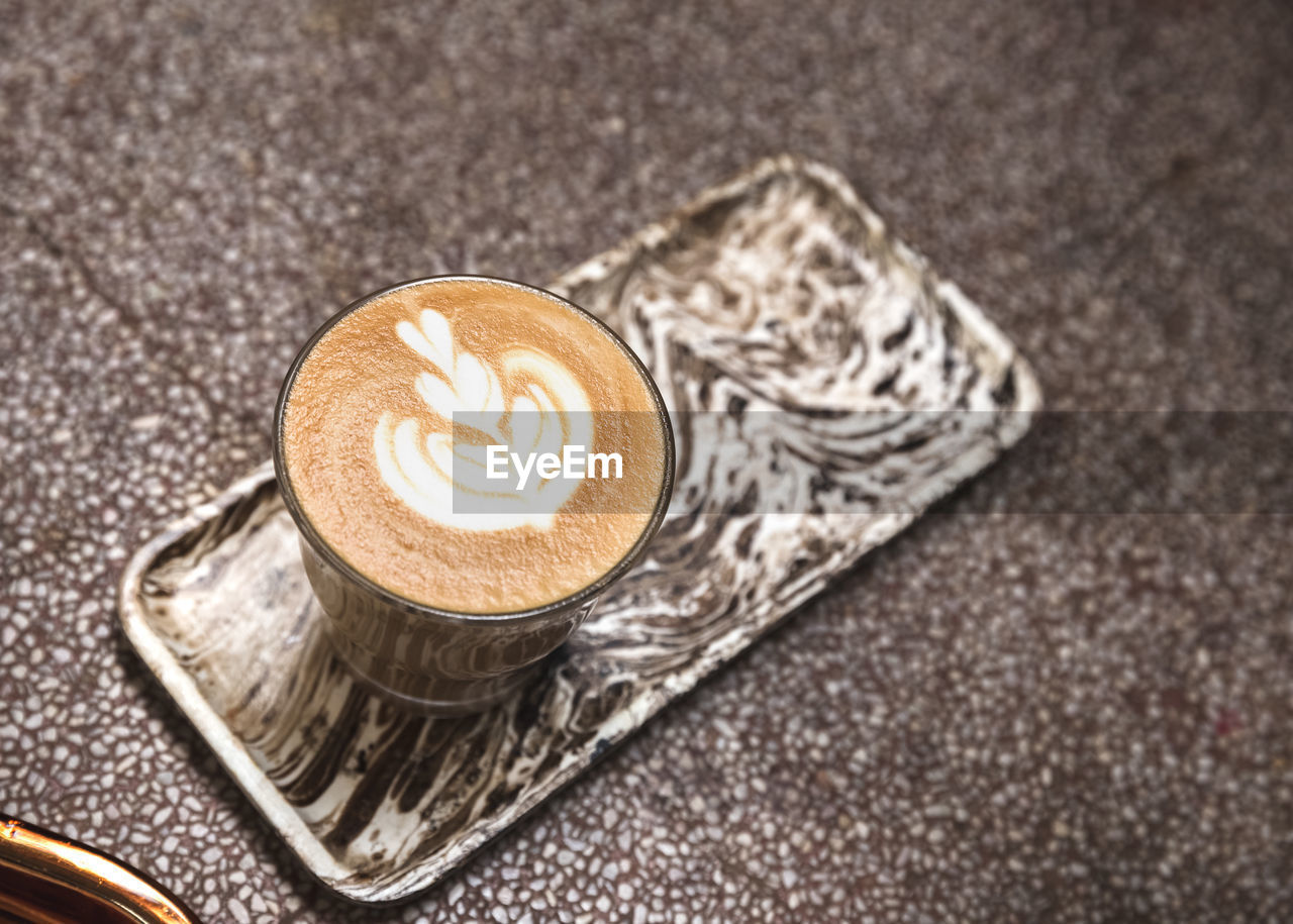 coffee, coffee - drink, drink, food and drink, coffee cup, mug, cup, refreshment, cappuccino, hot drink, frothy drink, froth art, still life, indoors, latte, love, heart shape, positive emotion, food, no people, crockery, floral pattern, tray