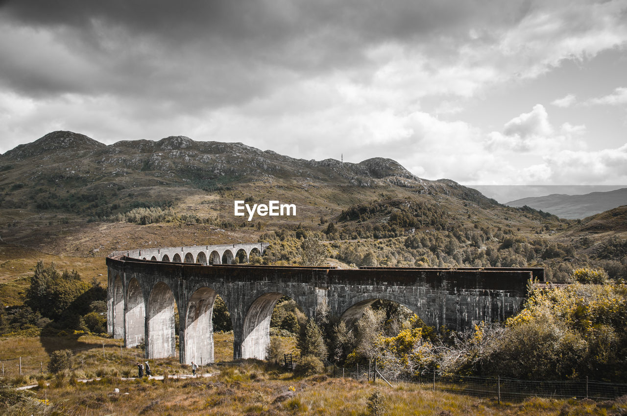 An old bridge in the scottish highlands