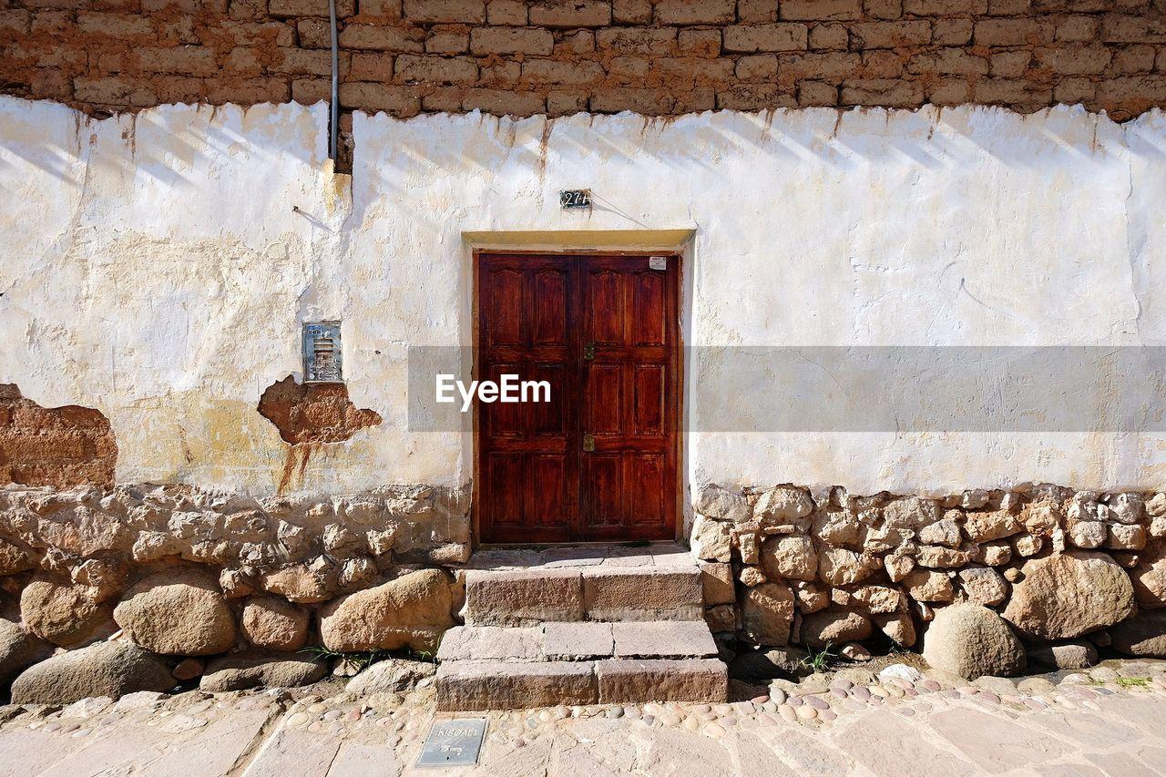 door, architecture, entrance, built structure, day, building exterior, doorway, house, wood - material, no people, outdoors, open door